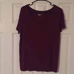 Size large purple top by Merona!